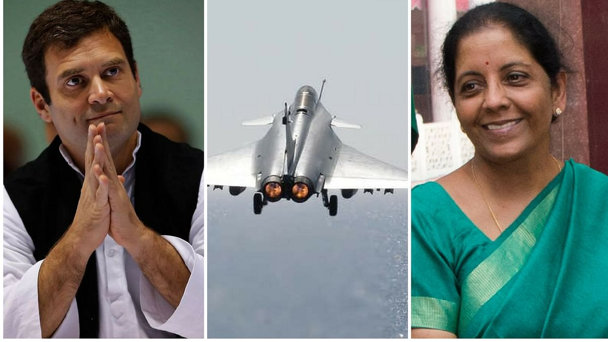 Rahul Gandhi launched a fresh attack on the Modi government  over the Rafale deal.