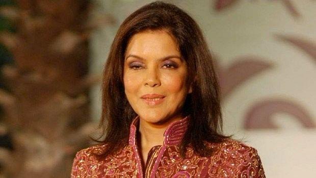 Zeenat Aman filed a case against a businessman in Mumbai.