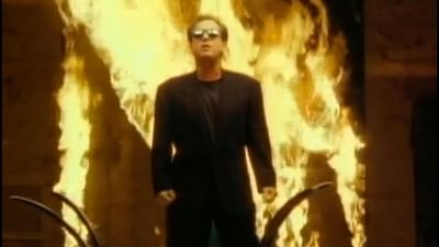 """American singer-songwriter Billy Joel in the video of his iconic song """"We Didn"""