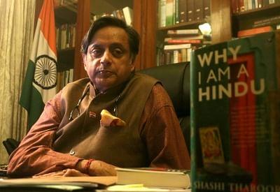 Congress MP Shashi Tharoor. (Photo: Bidesh Manna/IANS)