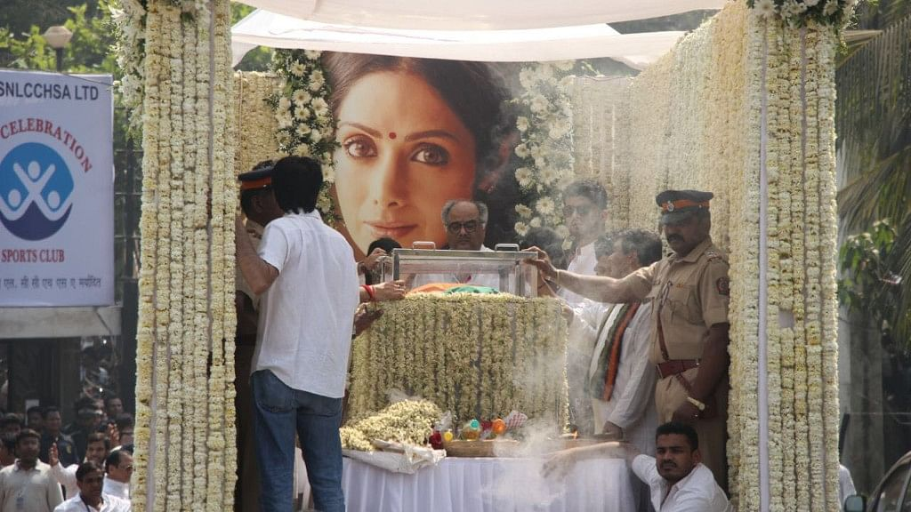 Sridevi Cremated With State Honours