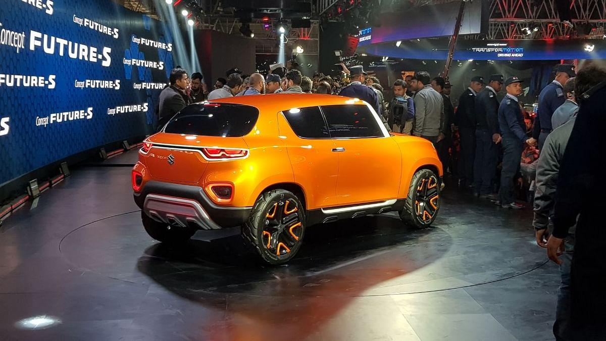 Maruti Suzuki kicked off  Auto Expo 2018 with the showcase of its crossover concept, the Future Concept S.