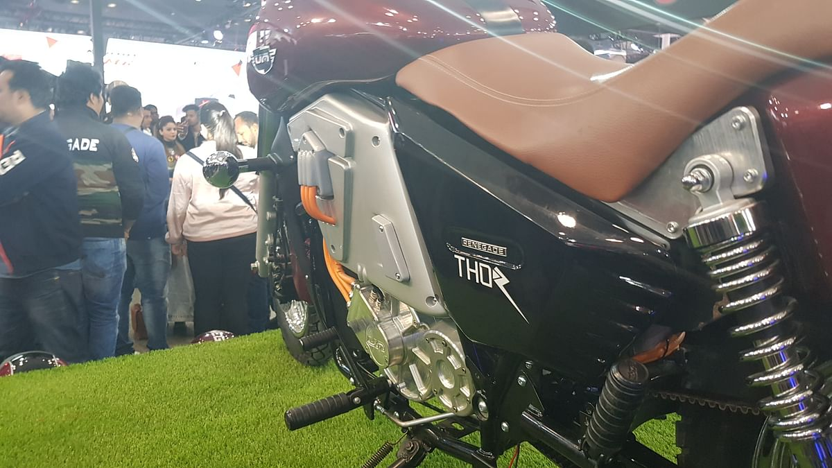 Renegade Thor is priced at Rs 4.9 lakh.