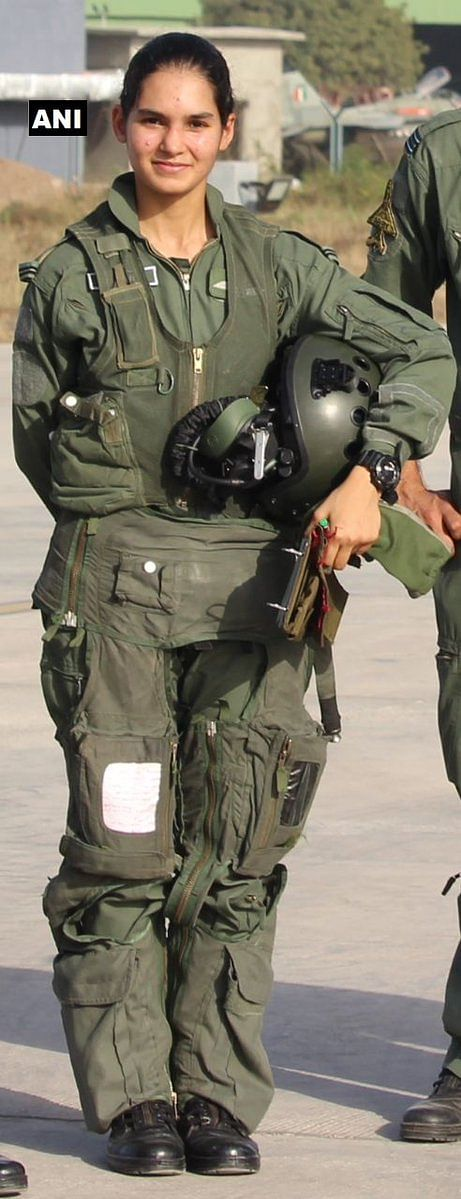 Flying officer Avani Chaturvedi, one of the three in the first batch of female pilots, besides Bhawana Kanth and Mohana Singh, who were inducted in Indian Air Force fighter squadron on 18 June 2016, flew a MiG-21 bison in her first solo flight.