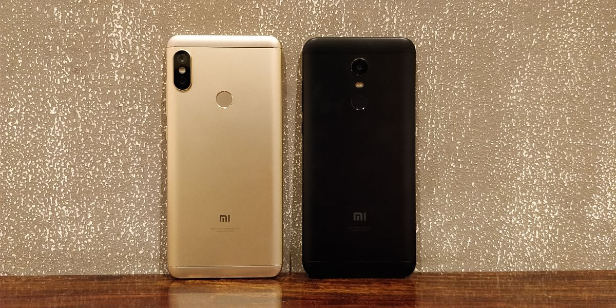 Both the Redmi phones come with full metal design