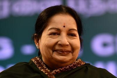 J. Jayalalithaa. (File Photo: IANS)