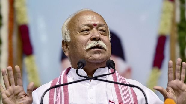 RSS Chief Bhagwat Says Nationalism Has Nazi Links, Cong Lashes Out