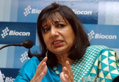 Biocon Chairperson and Managing Director Kiran Mazumdar Shaw. (File Photo: IANS)