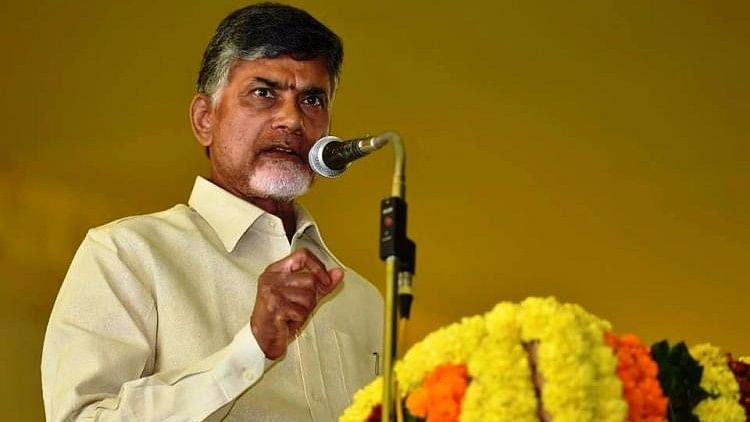 """Democratically, you have told us about your concern. For that, you need not preach to us because you have a mouth. You should control it,"" Naidu said."