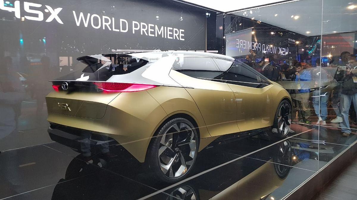 Tata Motors Unveils H5X SUV, 45X Concept Hatch, Racemo & More