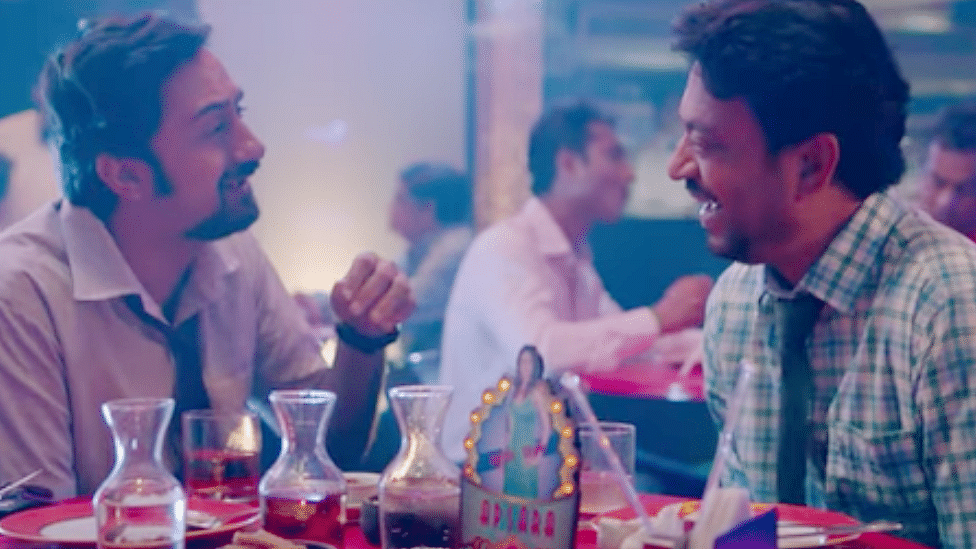 Irrfan Khan in a screengrab from the trailer of <i>Blackmail</i>.