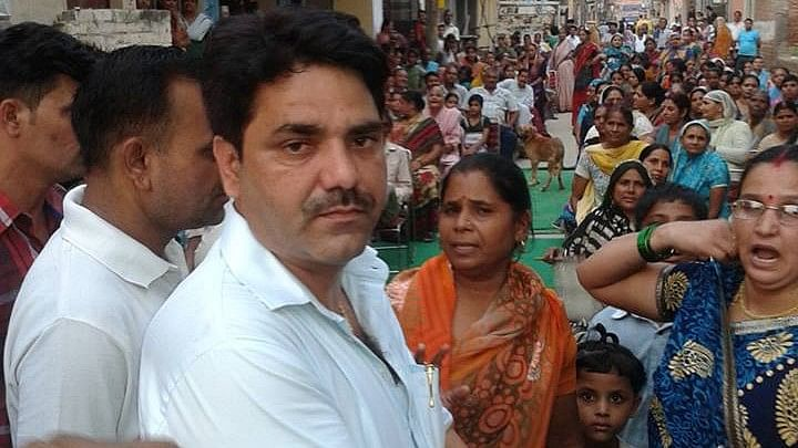 """Naresh Balyan was booked for asking citizens to """"beat up"""" those who delayed public welfare work."""