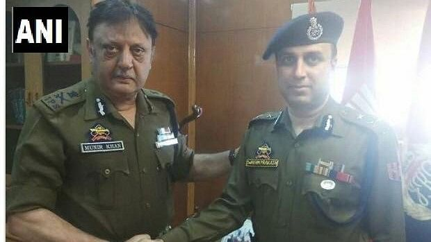 SP Pani takes charge as Inspector General of Police (IGP) of Kashmir