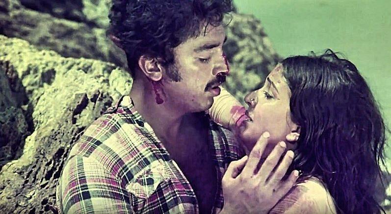 Kamal Haasan made his Hindi debut with the 1981 superhit 'Ek Duuje Ke Liye.'