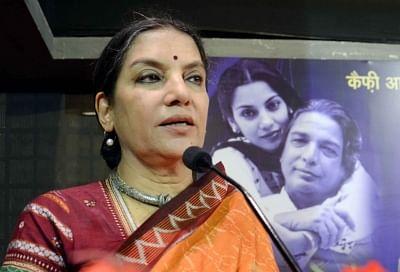Actress Shabana Azmi. (File Photo: IANS)