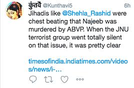 JNU's Najeeb Falsely Linked to ISIS Using Fake News Reports, Again