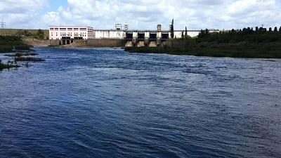Krishna Raja Sagara Dam built on Cauvery river.