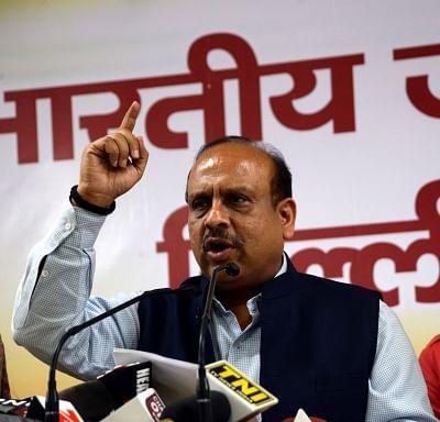 Leader of opposition in Delhi assembly, Vijender Gupta. (Photo: IANS)