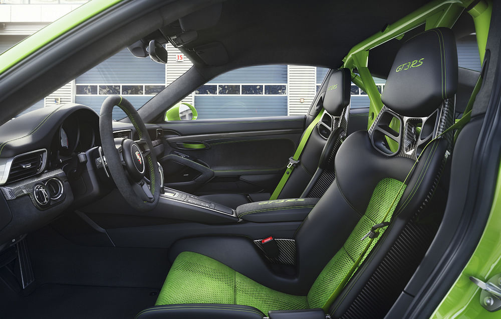 The Clubsport kit includes harnesses and a rollover bar.