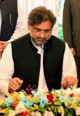 Shahid Khaqan Abbasi (File Photo: IANS)