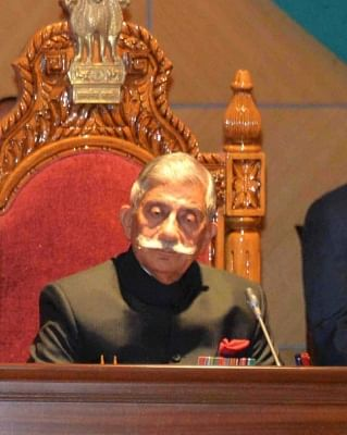 Arunachal Pradesh Governor B.D. Mishra. (File Photo: IANS)