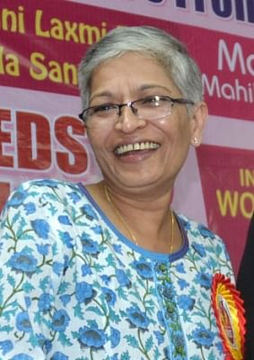 Bengaluru: Senior Kannada journalist and social activist Gauri Lankesh was shot dead by unidentified men at her residence in Bengaluru on Sept 5, 2017. She was shot dead from close range when she was standing at the gate of her house in Rajarajeswari Nagar (in the suburbs) around 8.30 p.m. (File Photo: IANS)
