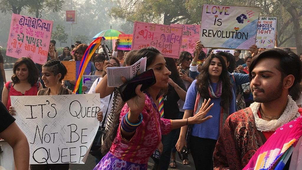 The Streets of Ahmedabad Turn Rainbow, Courtesy the Pride Parade