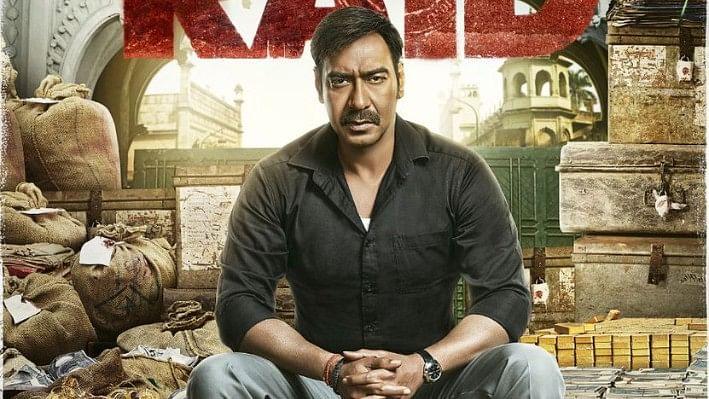 Ajay Devgn in a poster of <i>Raid</i>.&nbsp;