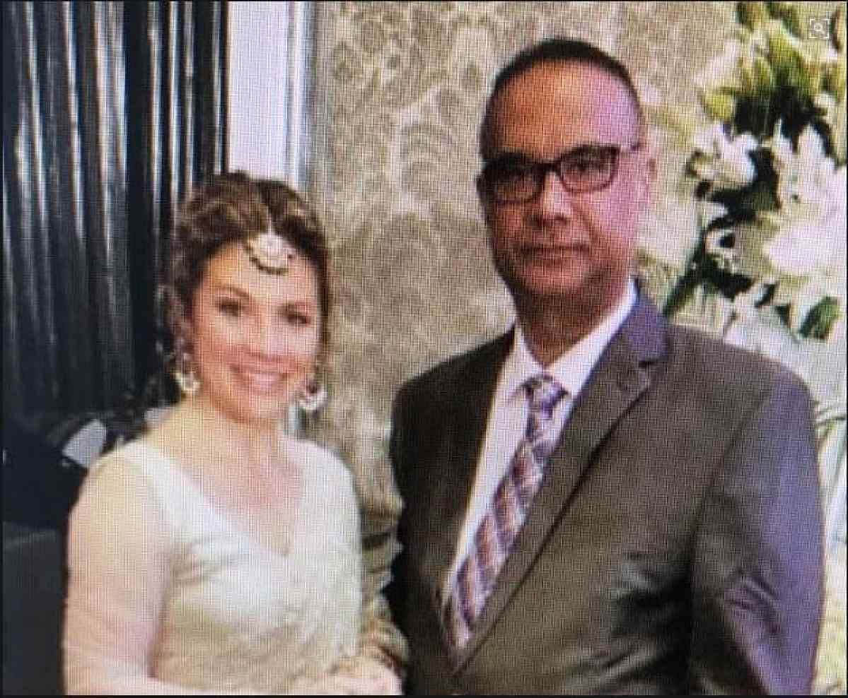 Canadian PM's wife Sophie Trudeau seen with Jaspal Atwal.