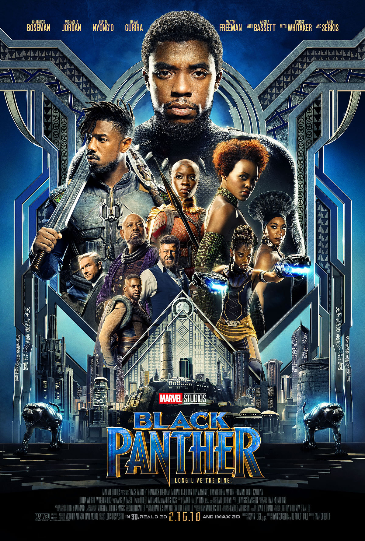 A poster of <i>Black Panther.</i>