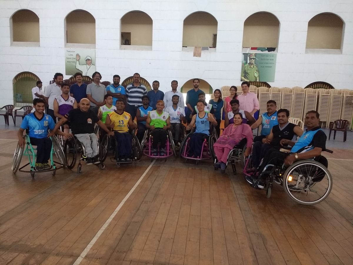 Introducing the Wheelchair Basketball of India