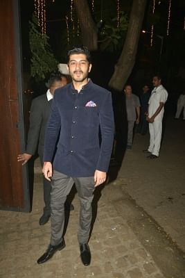 Mumbai: Actor Mohit Marwah during a Diwali party hosted by actor Anil Kapoor in Mumbai, on Oct 19, 2017. (Photo: IANS)