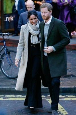 Prince Harry and Meghan Markle. (Xinhua/Tim Ireland/IANS)