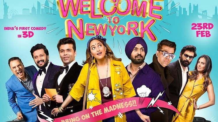 If anything, 'Welcome to New York' proves what a delightful performer Diljit Dosanjh is.