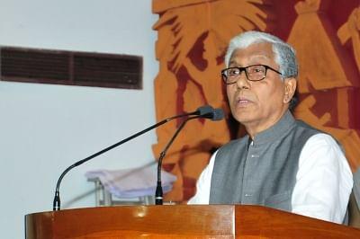 Tripura Chief Minister and CPI(M) leader Manik Sarkar.