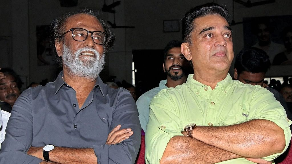 "Actor-turned-politician Kamal Haasan had made it clear that any political alliance with superstar Rajinikanth is unlikely if his colour is ""saffron"", in an apparent reference to the BJP."