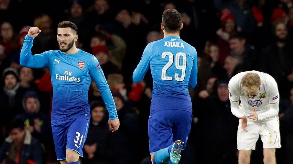 Europa League: Napoli Crash Out, Arsenal & AC Milan in Last 16
