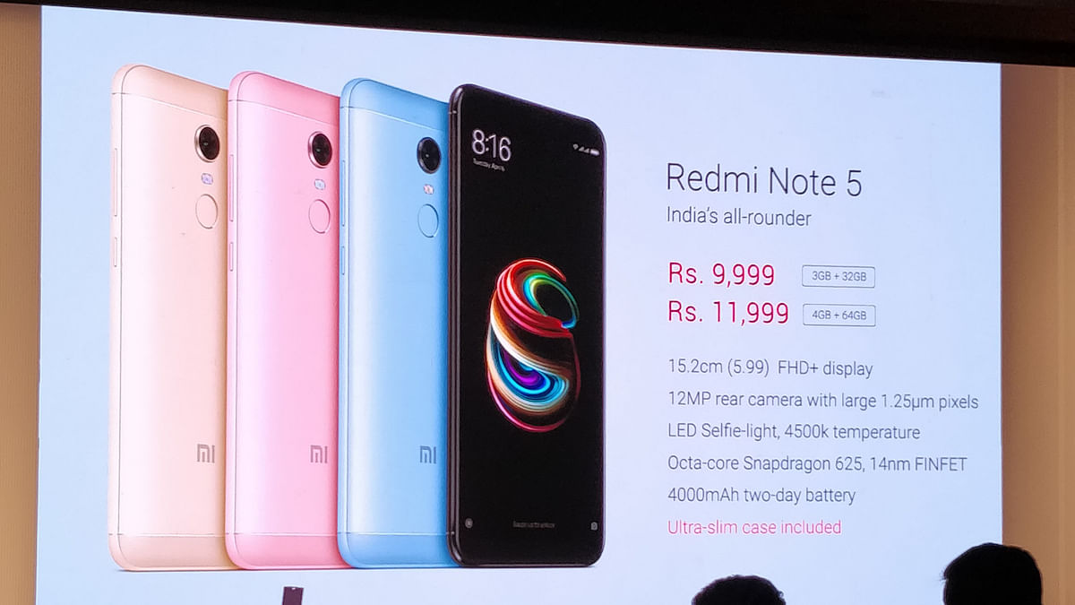 The Redmi Note 5 and 5 Pro have been launched in four colour variants