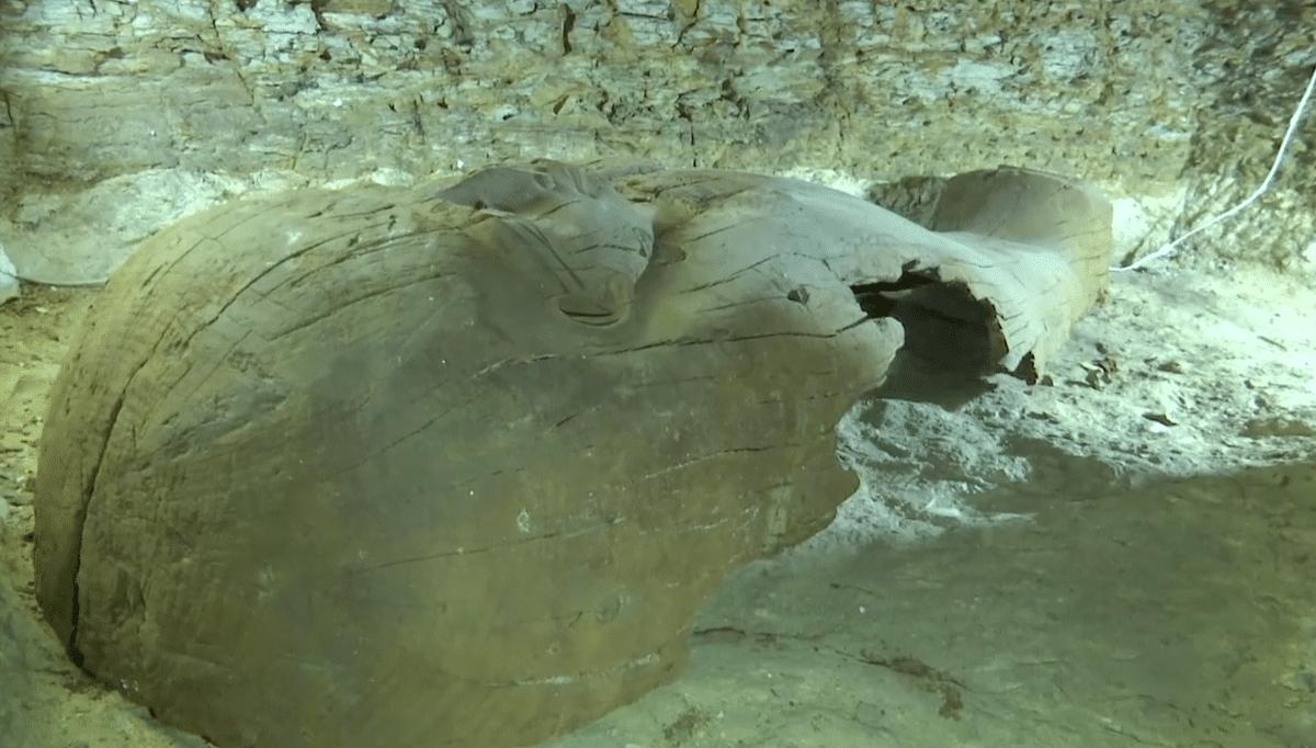40 Sarcophagi (decorated coffins) found in the Necropolis