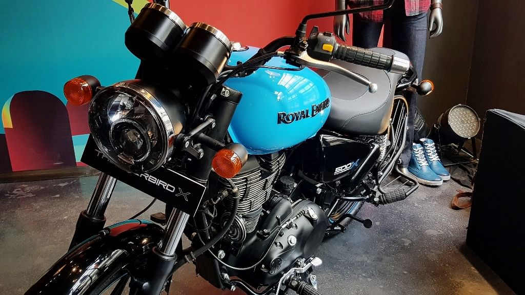 Thunderbird X is the latest addition to Royal Enfield's family of cruiser bikes.