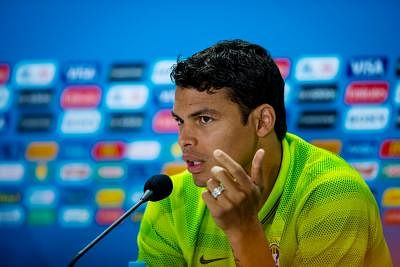 Thiago Silva. (Photo: Xinhua/Liu Bin/IANS)