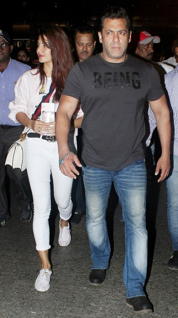 Salman Khan and Jacqueline are known for 'being' fashion icons of Bollywood.