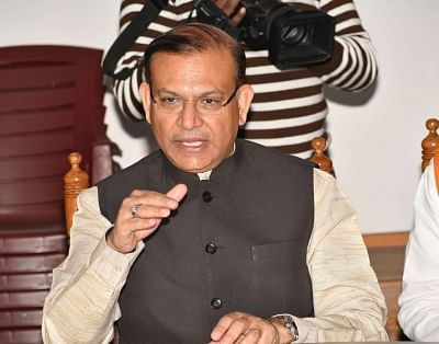 Minister of State for Civil Aviation Jayant Sinha. (Photo: IANS)