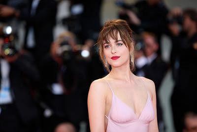 Actress Dakota Johnson. (Xinhua/Jin Yu/IANS)