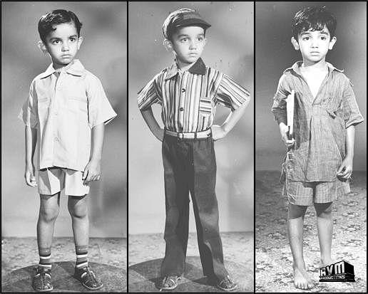 Kamal Haasan made his debut in 1960 Tamil film 'Kalathur Kannamma'