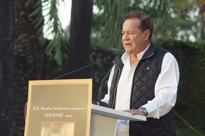Screenwriter Salim Khan. (Photo: IANS)