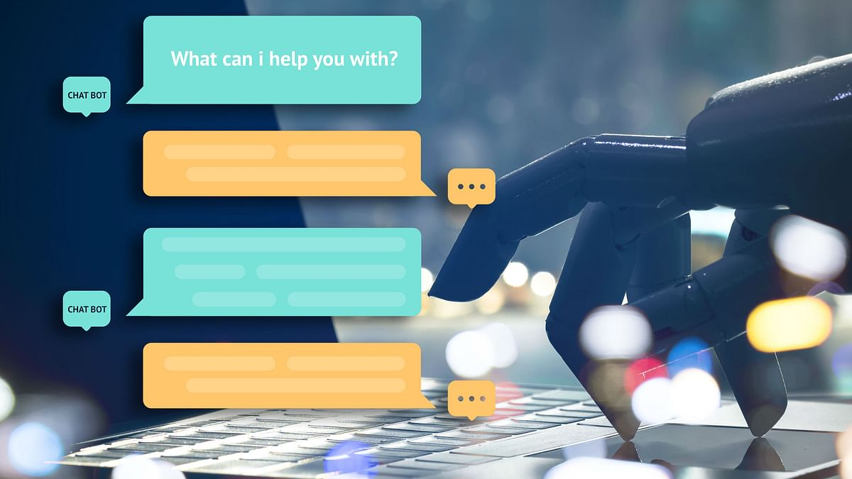 Chatbots learn from data to answer a standard set of questions from humans.