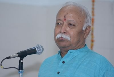 RSS chief Mohan Bhagwat. (File Photo: IANS)