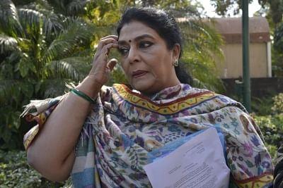 Congress demands Modi's apology over remarks concerning Renuka