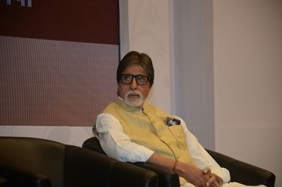 Mumbai: Actor Amitabh Bachchan at a charity programme in Mumbai on Jan 28, 2018. (Photo: IANS)